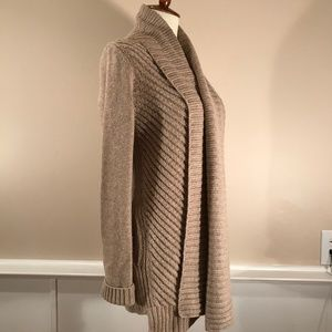 Vince Cable-Knit Cardigan